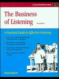 Business of Listening, book cover