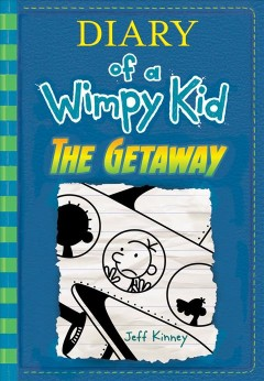 Diary of a Wimpy Kid:The Getaway, book cover