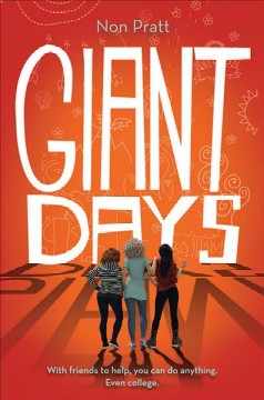 Giant days, book cover