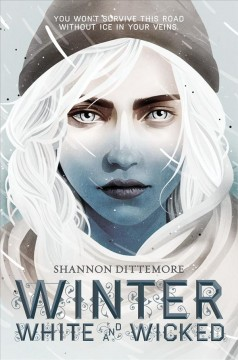 Winter, White and Wicked, book cover