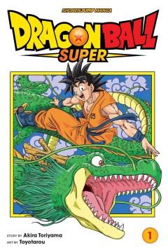 Dragon Ball Super, book cover