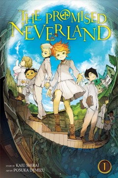 Promised Neverland (not in DVD format yet, streaming), book cover