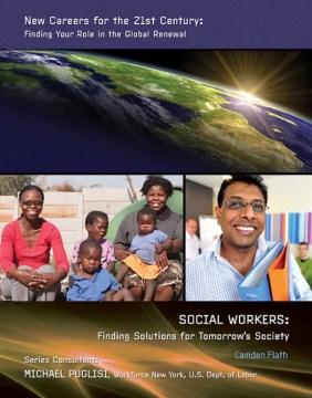 Trabajadores sociales que encuentran soluciones para la sociedad del mañana, portada del libro