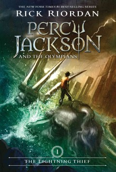 The Lightning Thief (Percy Jackson and the Olympians #1), book cover