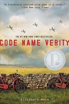 Code Name Verity, book cover