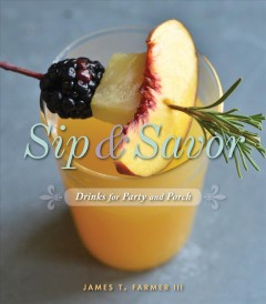 Sip & Savor, book cover