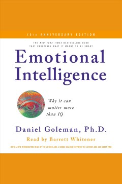 Emotional Intelligence:  When It Matters More Than IQ, book cover