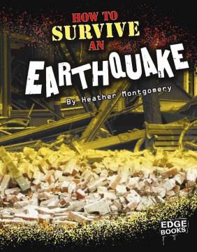 Cómo sobrevivir a un terremoto, portada del libro