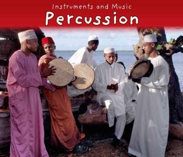 Percusión, portada de libro