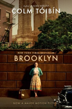 Brooklyn by Colm Tóibín, book cover
