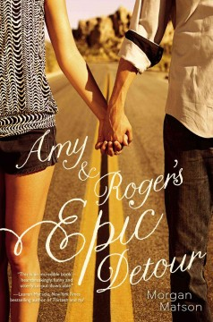 Amy and Roger's Epic Detour, book cover