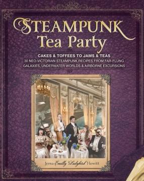 Steampunk Tea Party, book cover