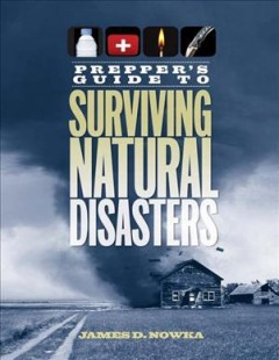 Guía de preparación para sobrevivir a los desastres naturales, portada del libro