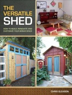 The Versatile Shed, book cover