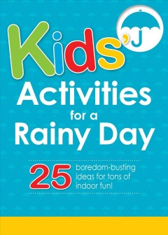 Kids Activities for a Rainy Day, book cover