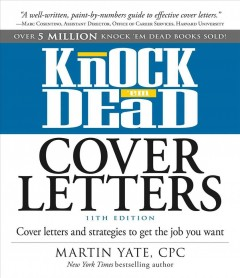 Knock 'em Dead Cover Letters, book cover