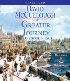 The greater journey by David McCullough.