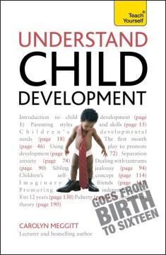 Understand Child Development, book cover