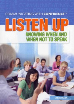Listen Up, book cover