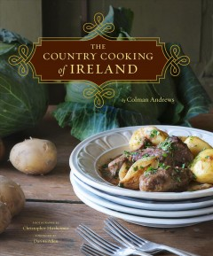 The Country Cooking of Ireland by Colman Andrews, book cover