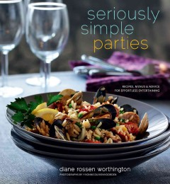 Seriously Simple Parties, book cover