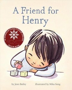 A Friend for Henry, book cover