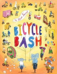 Bicycle bash by by Alison Farrell.