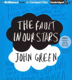 The fault in our stars [sound recording] by John Green.