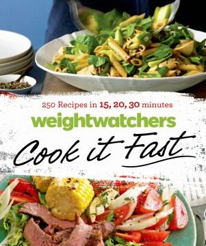 WeightWatchers Cook It Fast 250 Recetas en 15, 20, 30 minutos, portada del libro