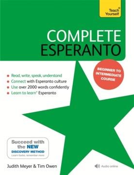 Esperanto completo, portada del libro