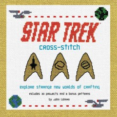 Star Trek Cross-stitch, book cover
