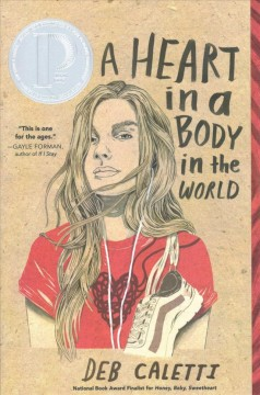 Un corazón en un cuerpo en el mundo, portada del libro