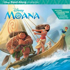 Moana Read-along and Storybook CD, book cover