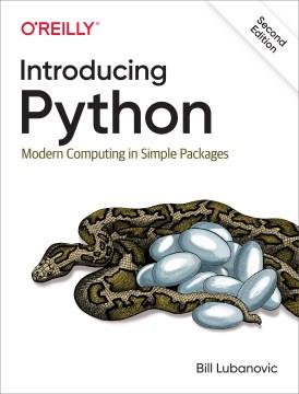 Presentamos Python, portada del libro