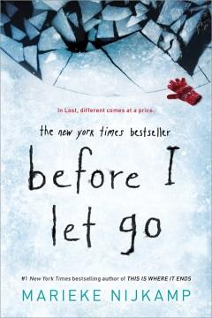 Antes de dejarlo ir, portada del libro