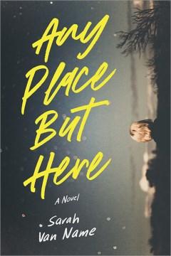 Cualquier lugar menos aquí, portada del libro