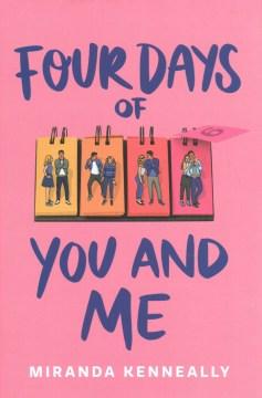 Four Days of You and Me, portada del libro