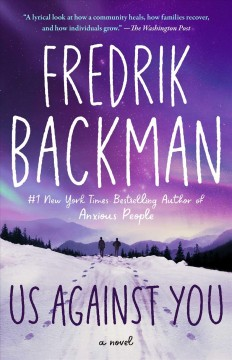 Us Against You by Fredrik Backman, book cover