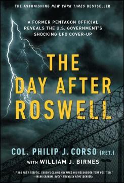 El día después de Roswell, portada del libro