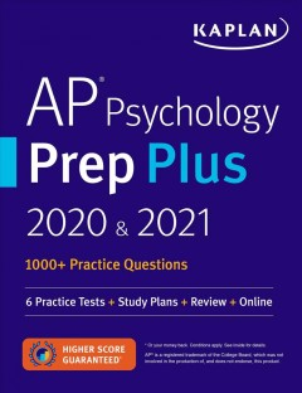 Kaplan Ap Psychology Prep Plus 2020 & 2021