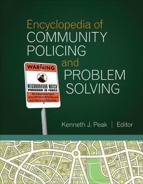 Enciclopedia de vigilancia comunitaria y resolución de problemas, portada del libro
