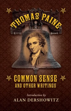 Thomas Paine Common Sense and Other Writings, book cover
