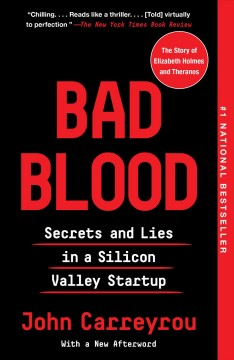 Bad Blood, book cover