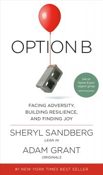 Option B Facing Adversity, Building Resilience, and Finding Joy, book cover