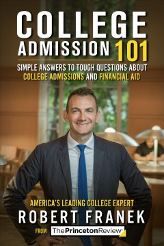 College Admissions 101, book cover