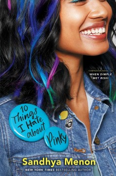 10 Things I Hate About Pinky, book cover