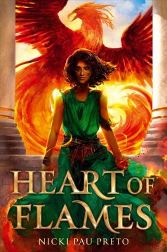 Heart of Flames, book cover