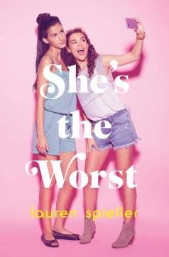 Ella es lo peor, portada del libro