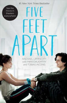Five Feet Apart, book cover