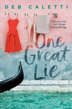 One Great Lie, book cover